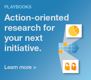 Playbooks: Action-oriented research for your next initiative.