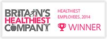 Britain's Healthiest Company Winner 2014